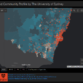 COVID-19 NSW hotspot dashboard developed by CUAVA Researchers